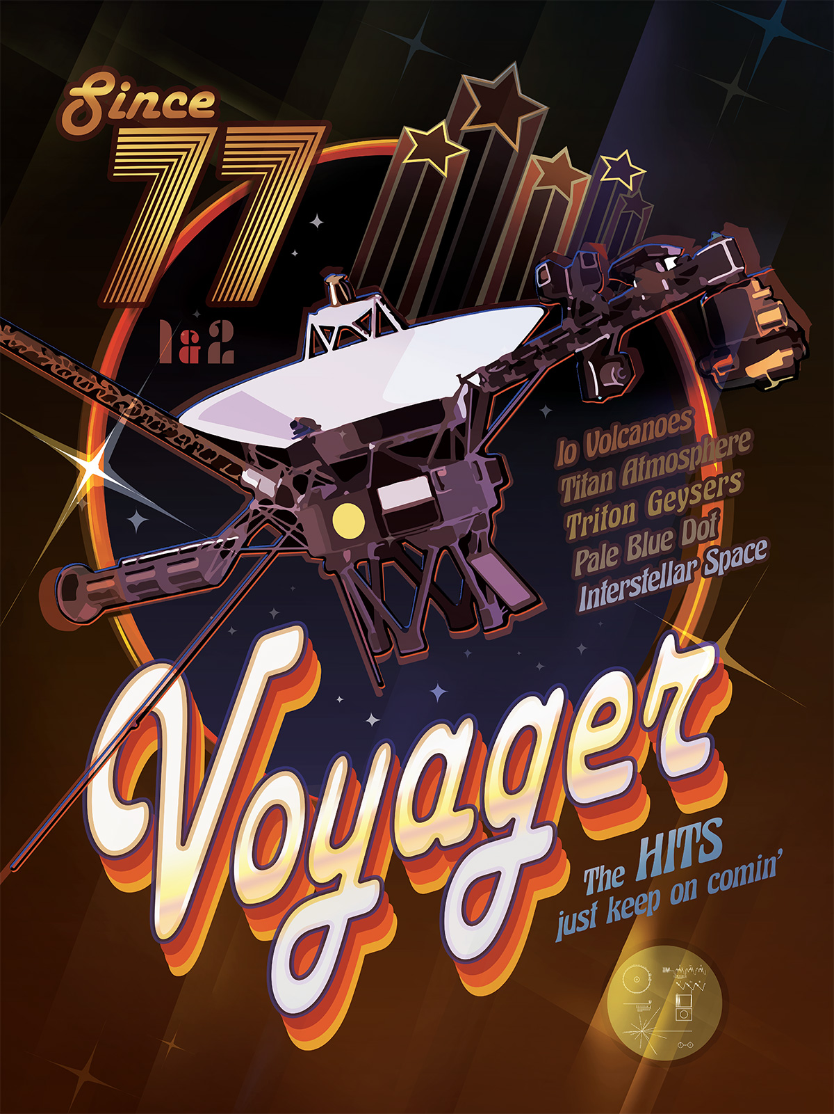 Les 40 ans de Voyager 1 et 2