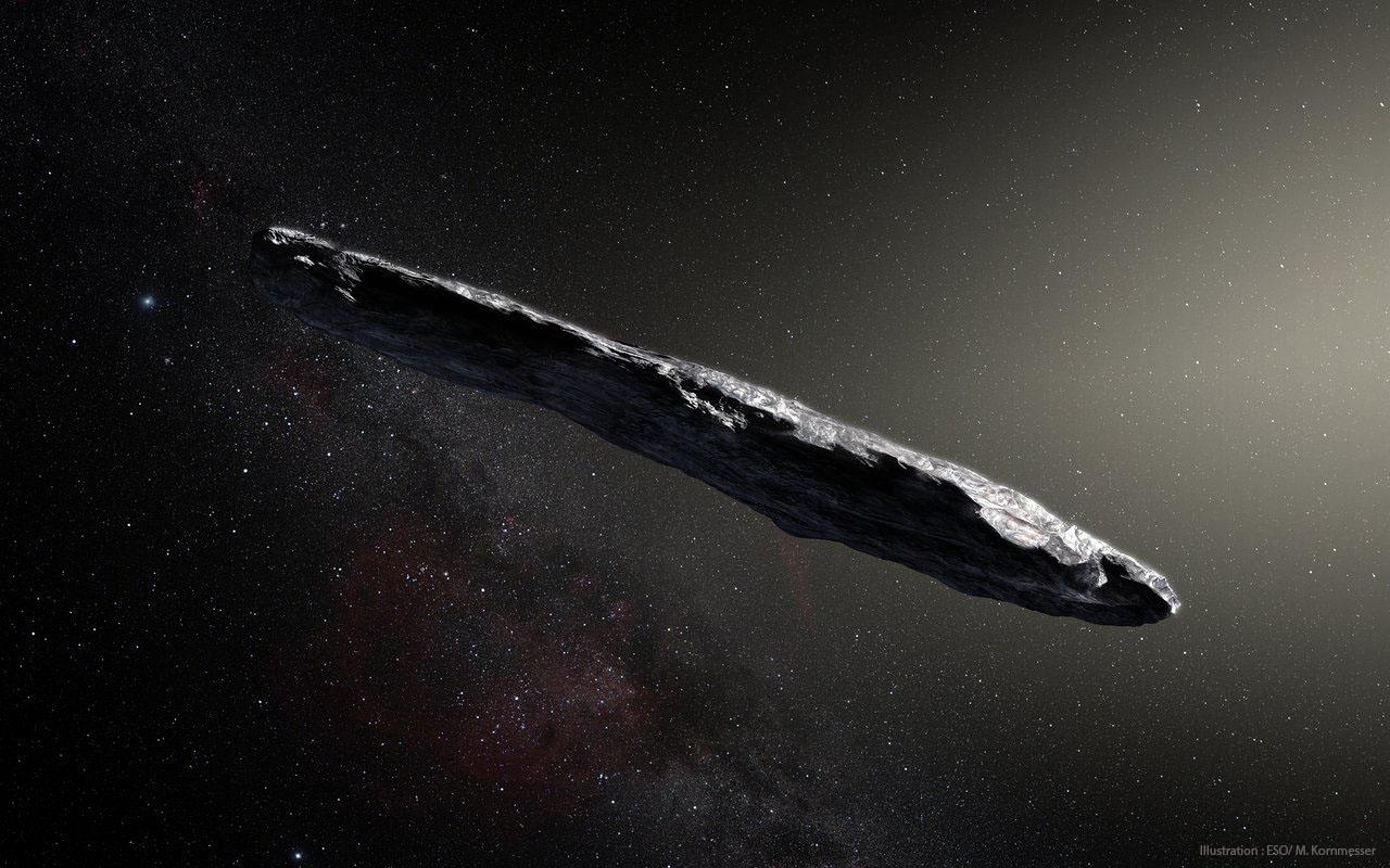 'Oumuamua, découverte du premier astéroïde provenant de l'espace interstellaire
