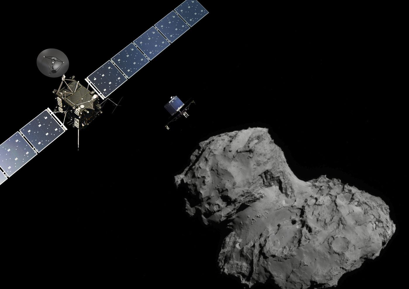 L'Odyssée Rosetta et Philae – retour sur la comète Tchouri