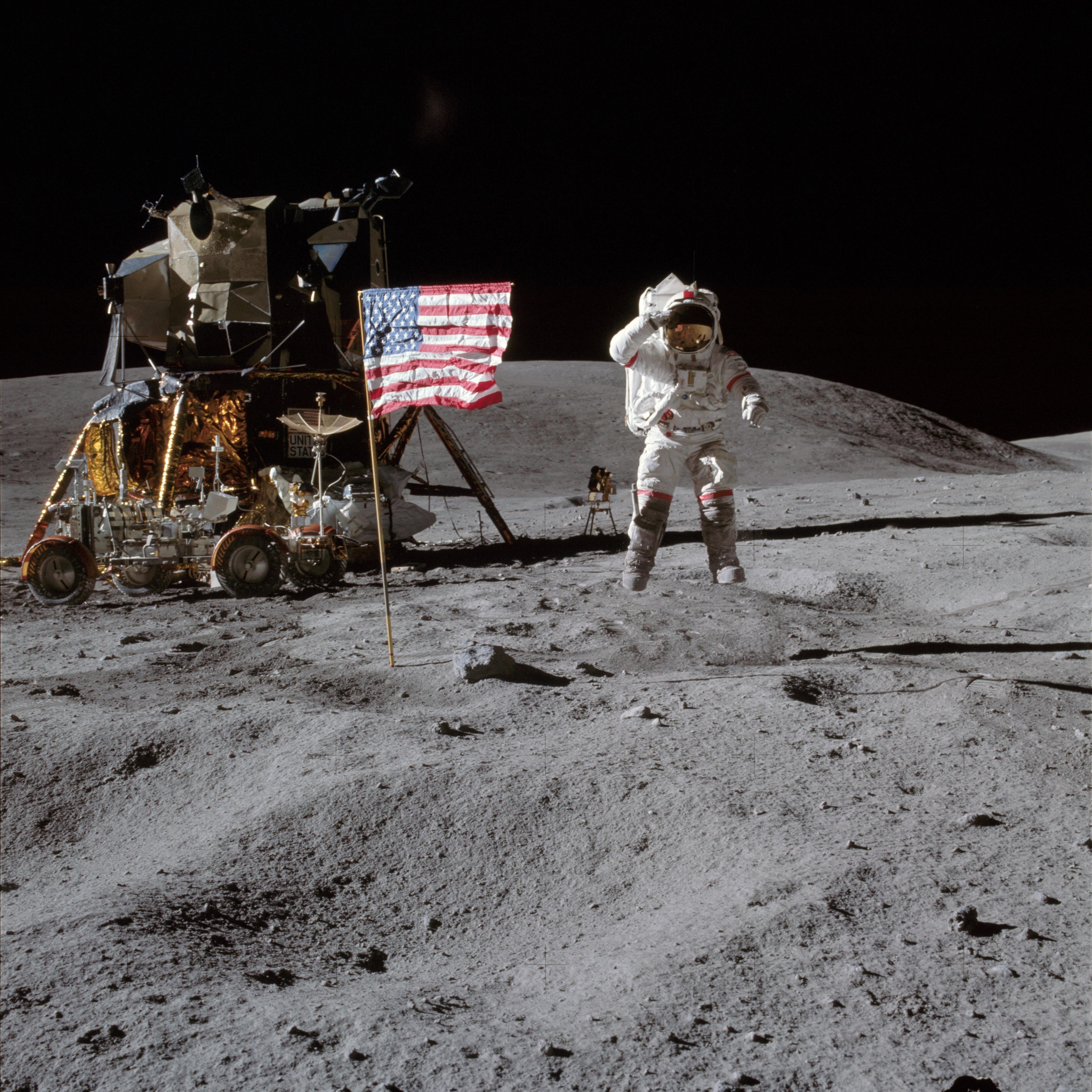 L'astronaute John Young, pionnier de l'exploration spatiale