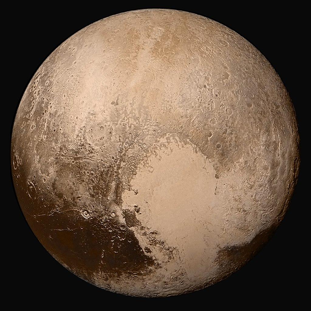 Pluton serait une gigantesque comète couverte de dunes glacées