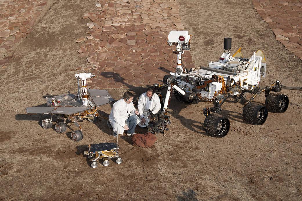 De Sojourner à Curiosity : les rovers martiens