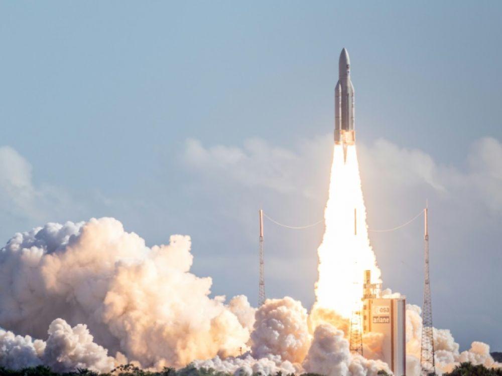 Le 100ème lancement d'Ariane 5