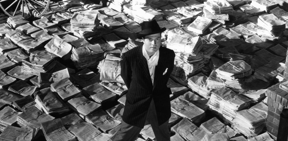 Orson Welles dans le film 'Citizen Kane