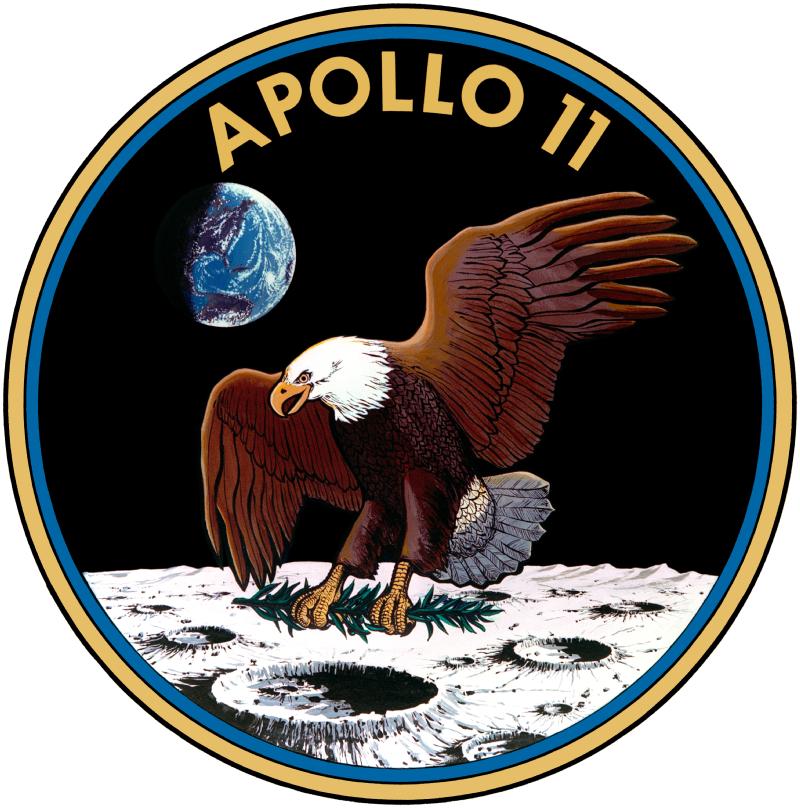 Emblême de la mission Apollo 11