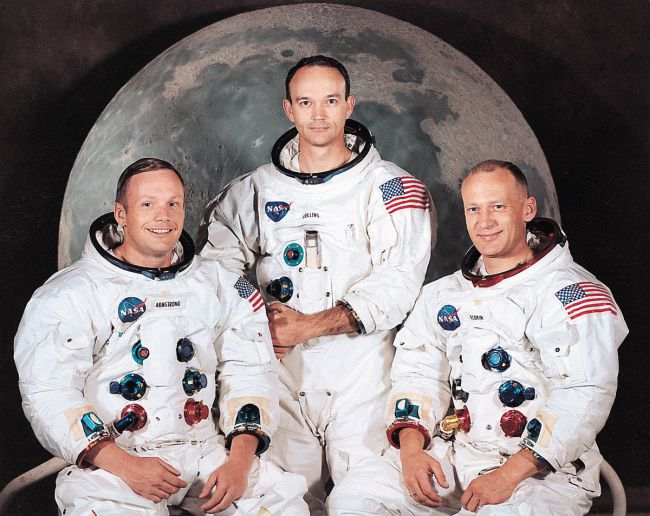 astronautes d'Apollo 11