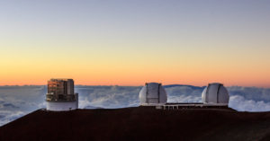 telescopes sur mauna kea