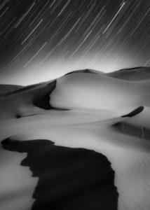 Sky and Ground, Stars and Sand © Shuchang Dong