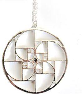 Cadeau scientifique : collier pendentif nombre d'or