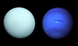 Neptune et Uranus