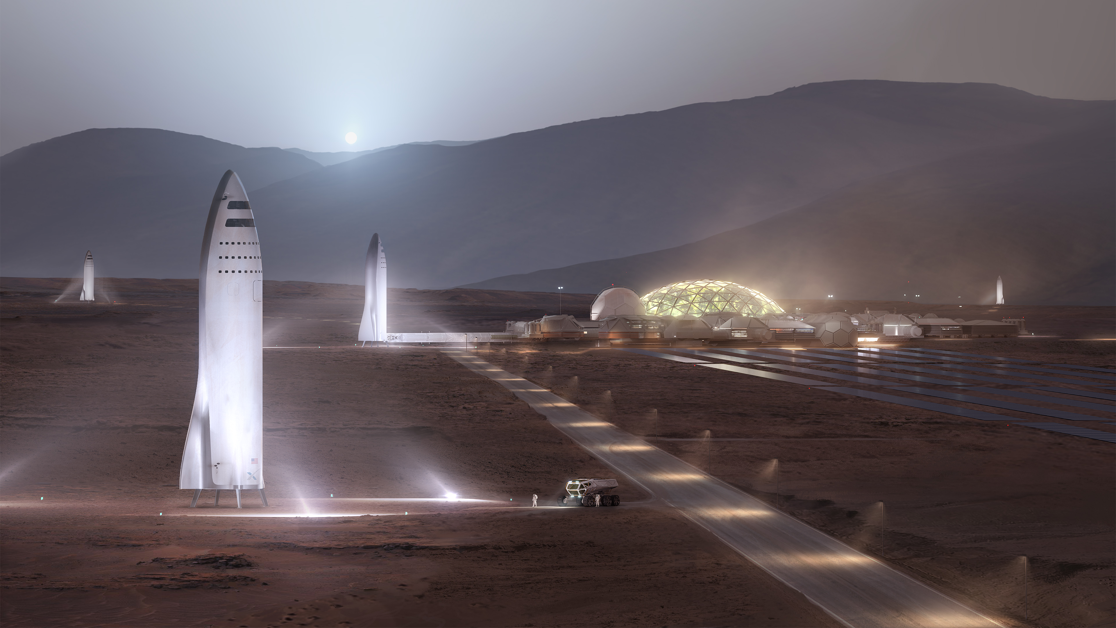 Mars, la lune, hyperloop… : les projets fous d'Elon Musk