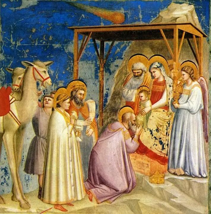 étoile de Bethléem - Adoration des Mages - Giotto Scrovegni