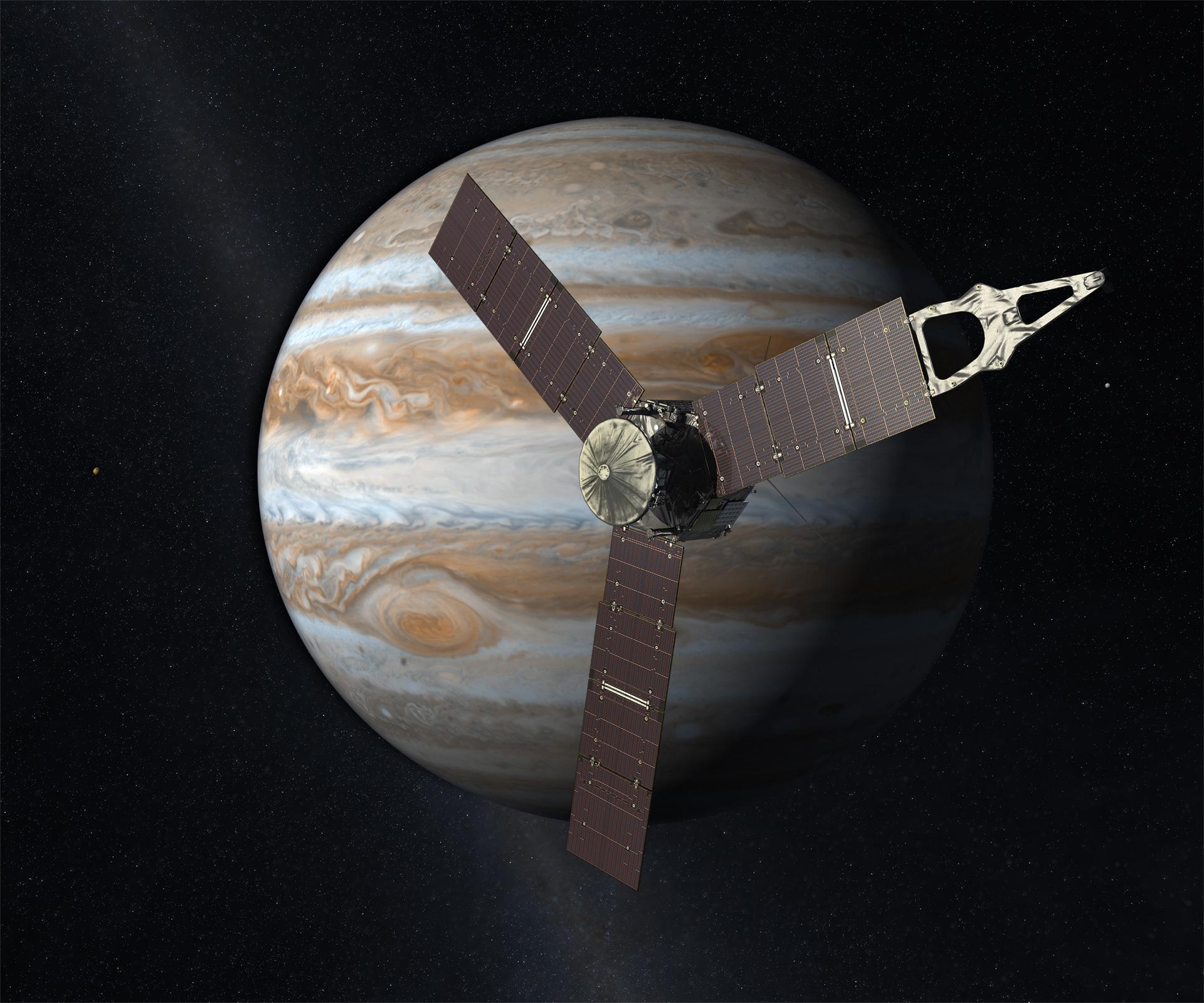 Jupiter : de Galilée à Juno
