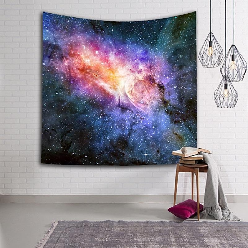 Toiles & Parures de lit sur le thème de l'espace et des étoiles