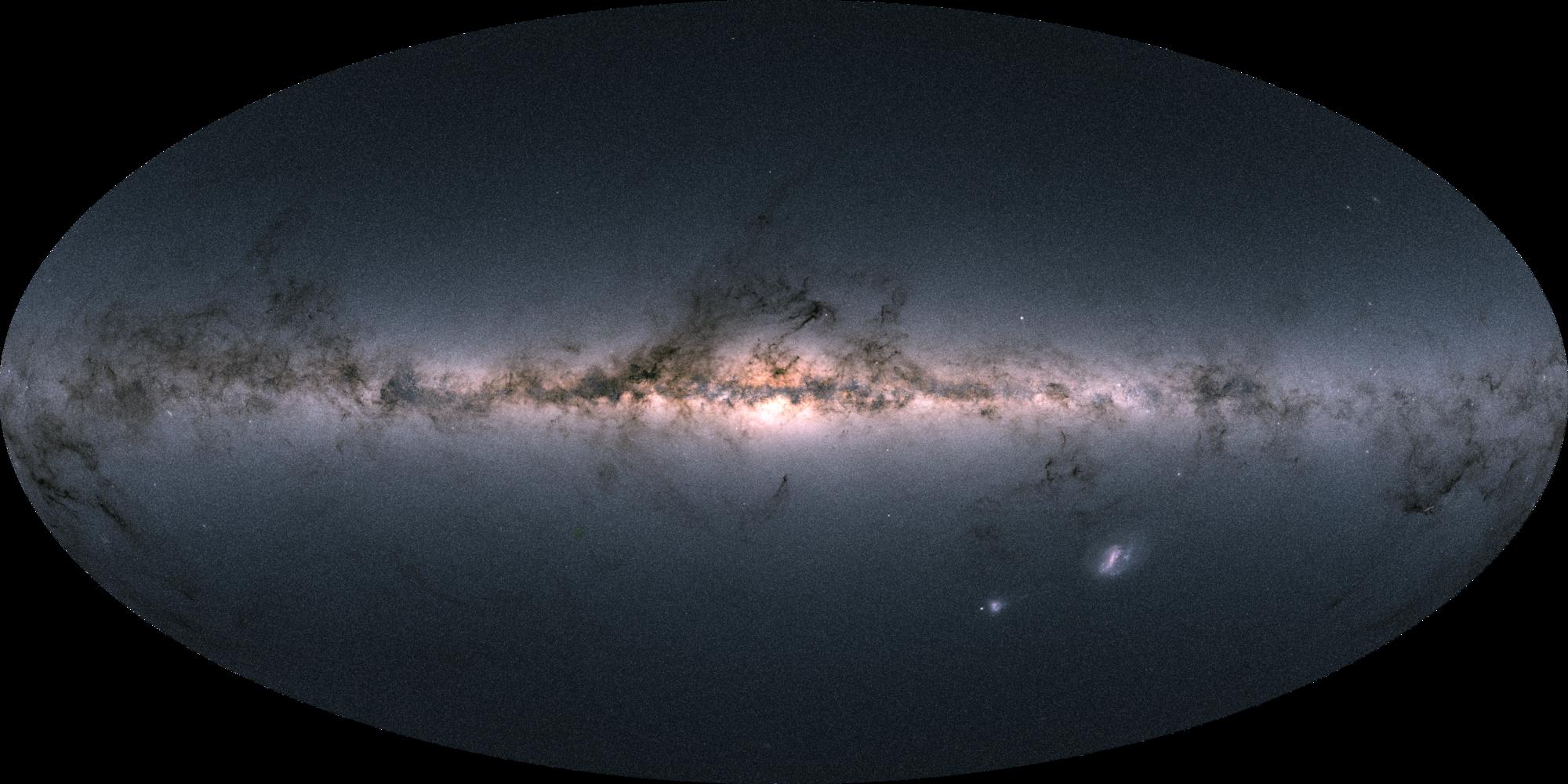 GAIA livre  la carte 3D la plus complète de la Voie Lactée