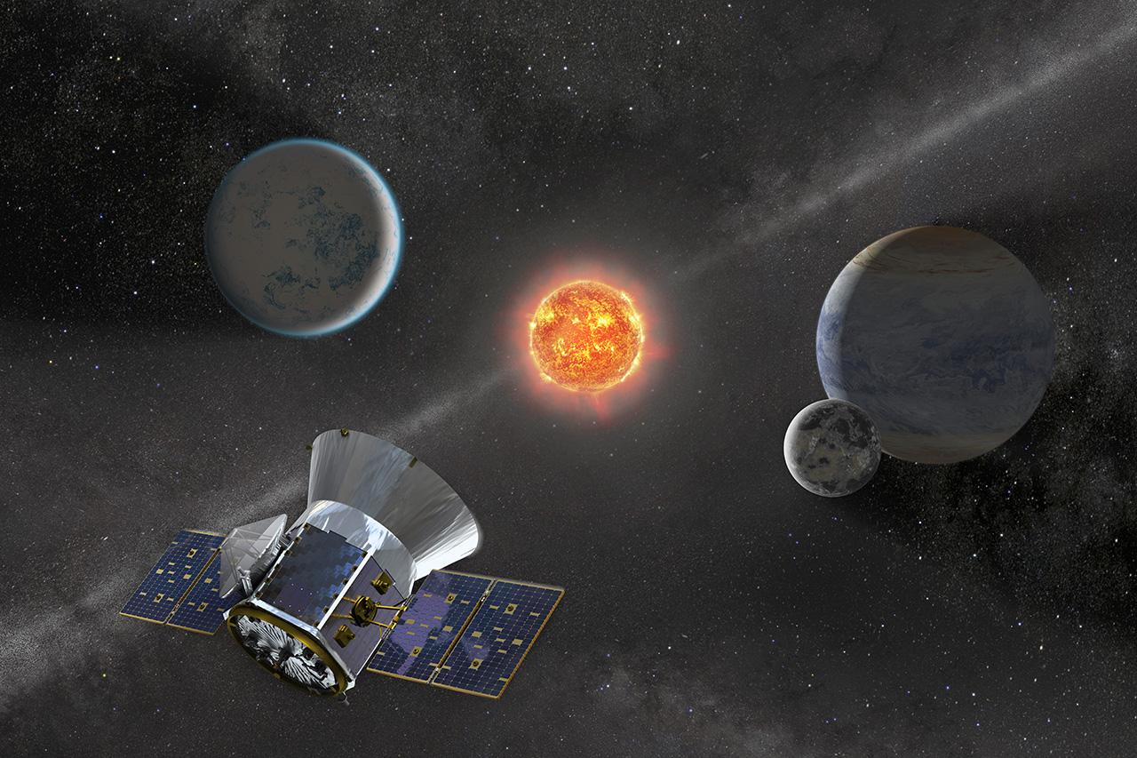 Space X lance TESS, le nouveau chasseur d'exoplanètes de la NASA