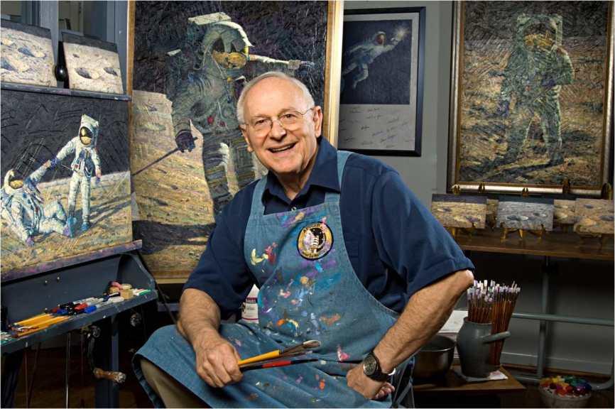 Alan Bean – premier peintre à avoir marché sur la lune