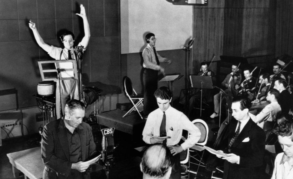 Orson Welles et The Mercury Theatre on air