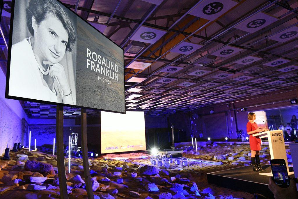 rover nommé Rosalind Franklin