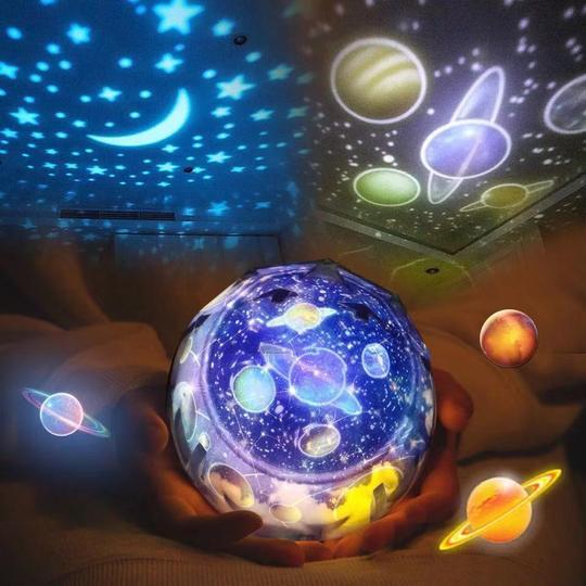 Veilleuse cosmos étoilé