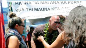Dwayne Jackson à Mauna Kea