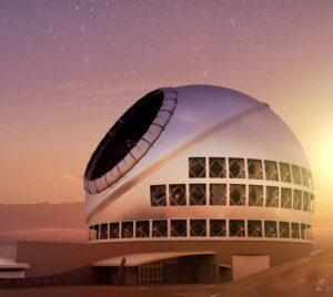 vision artistique du thirty meter telescope