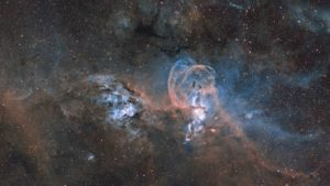 Statue of Liberty Nebula © Ignacio Diaz Bobillo