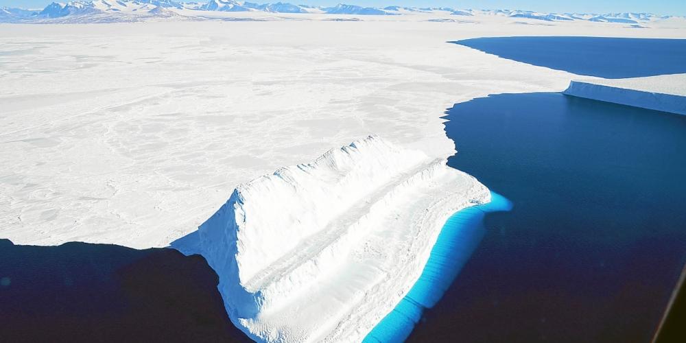 effets du réchauffement climatique sur la calotte glaciaire