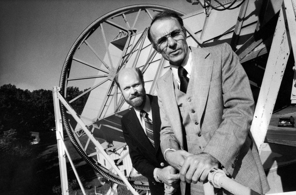 Arno Penzias et Robert Wilson - Prix nobel de Physique 1978
