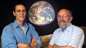 Michel Mayol et Didier Queloz