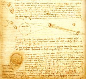 codex leicester Leonard de Vinci et la lumière cendrée
