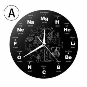 horloge cadeau scientifique