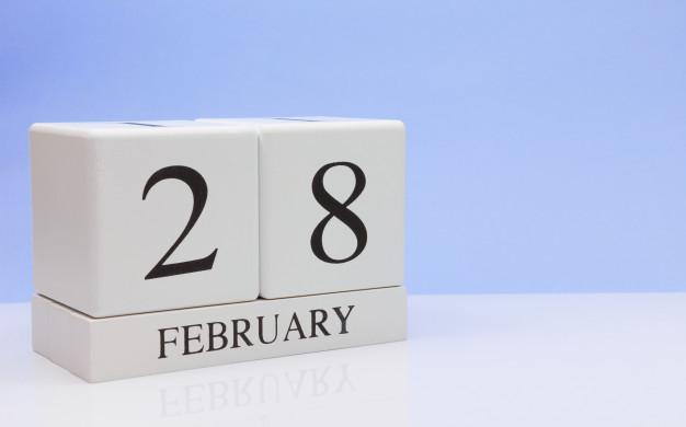 Pourquoi le mois de février a-t-il 28 jours ?