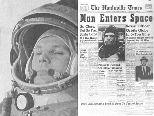 Youri Gagarine : premier homme dans l'espace
