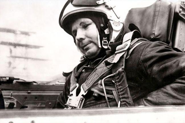 Youri Gagarine en 1968 juste avant sa mort