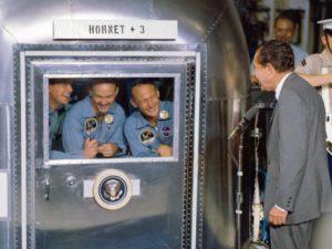 Apollo 11 quarantaine Nixon
