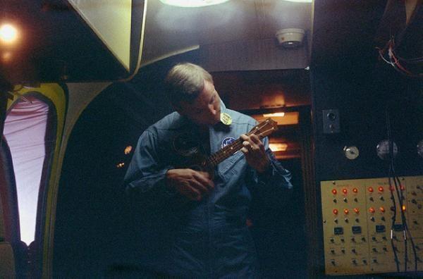 Neil Armstrong ukulele