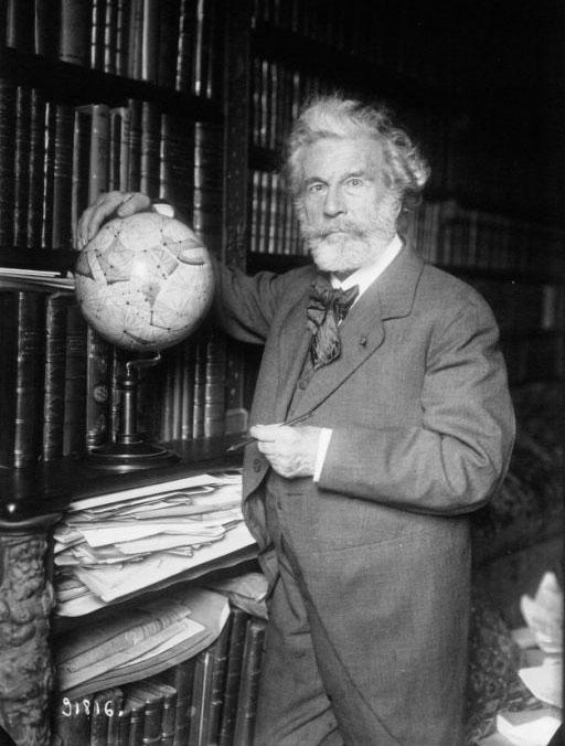 Camille Flammarion - globe céleste