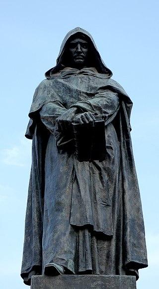 statue Giordano Bruno