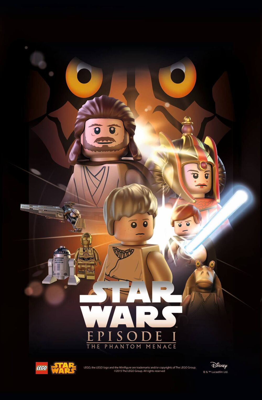LEGO Star Wars Episode I La Menace fantome