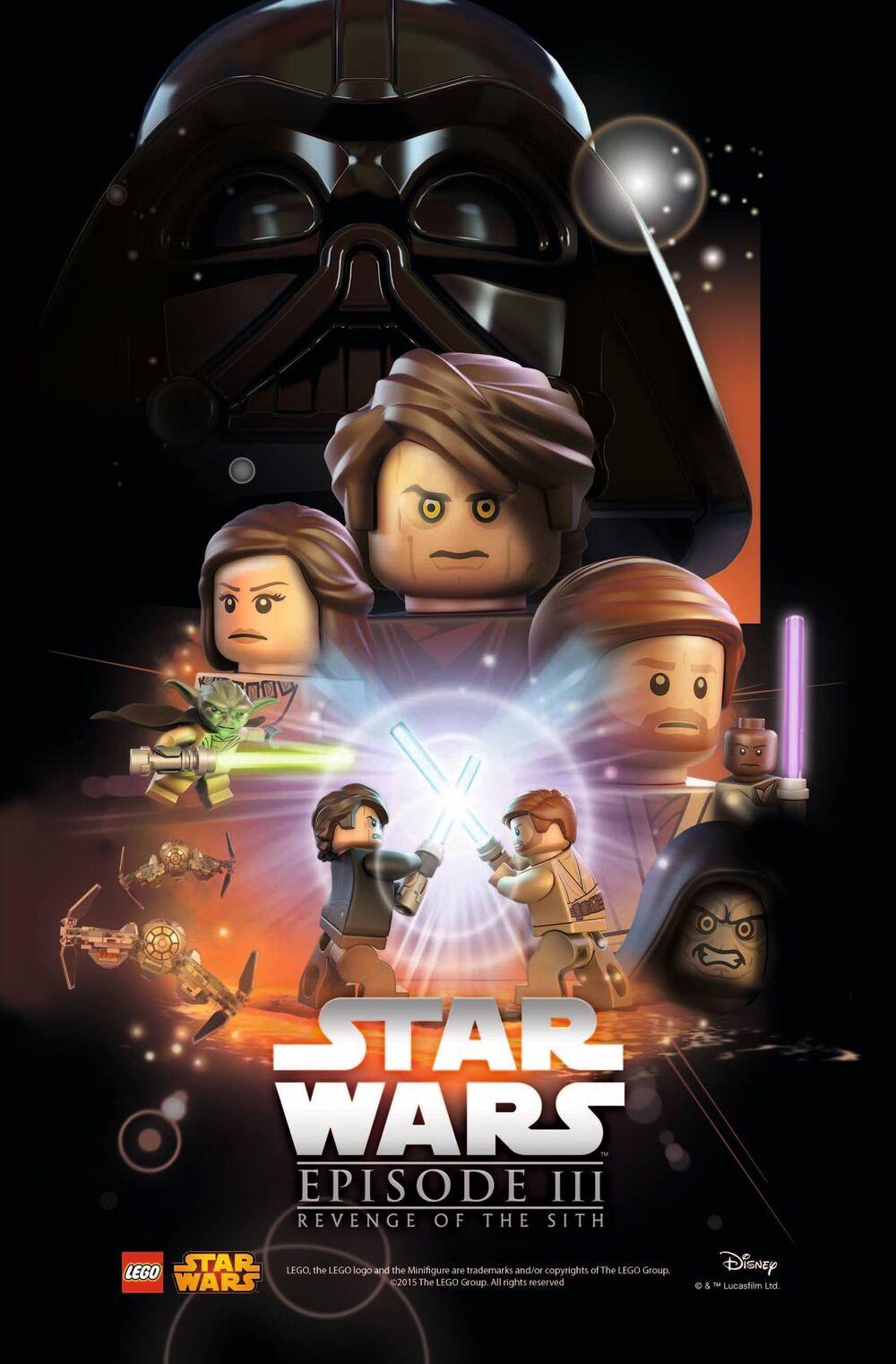 LEGO Episode III La Revanche des Sith
