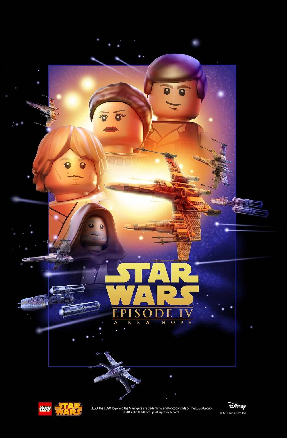 LEGO Episode IV Un nouvel espoir