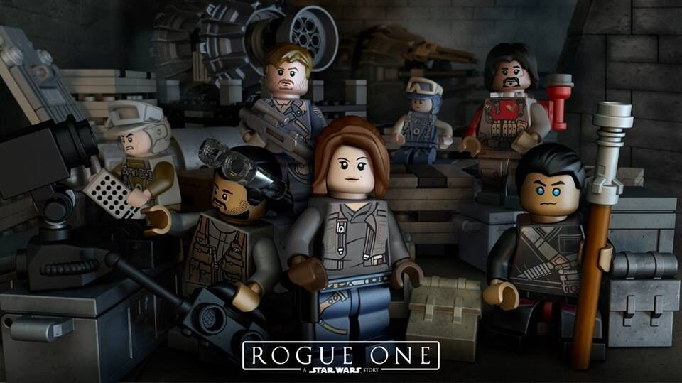 LEGO star wars Rogue One
