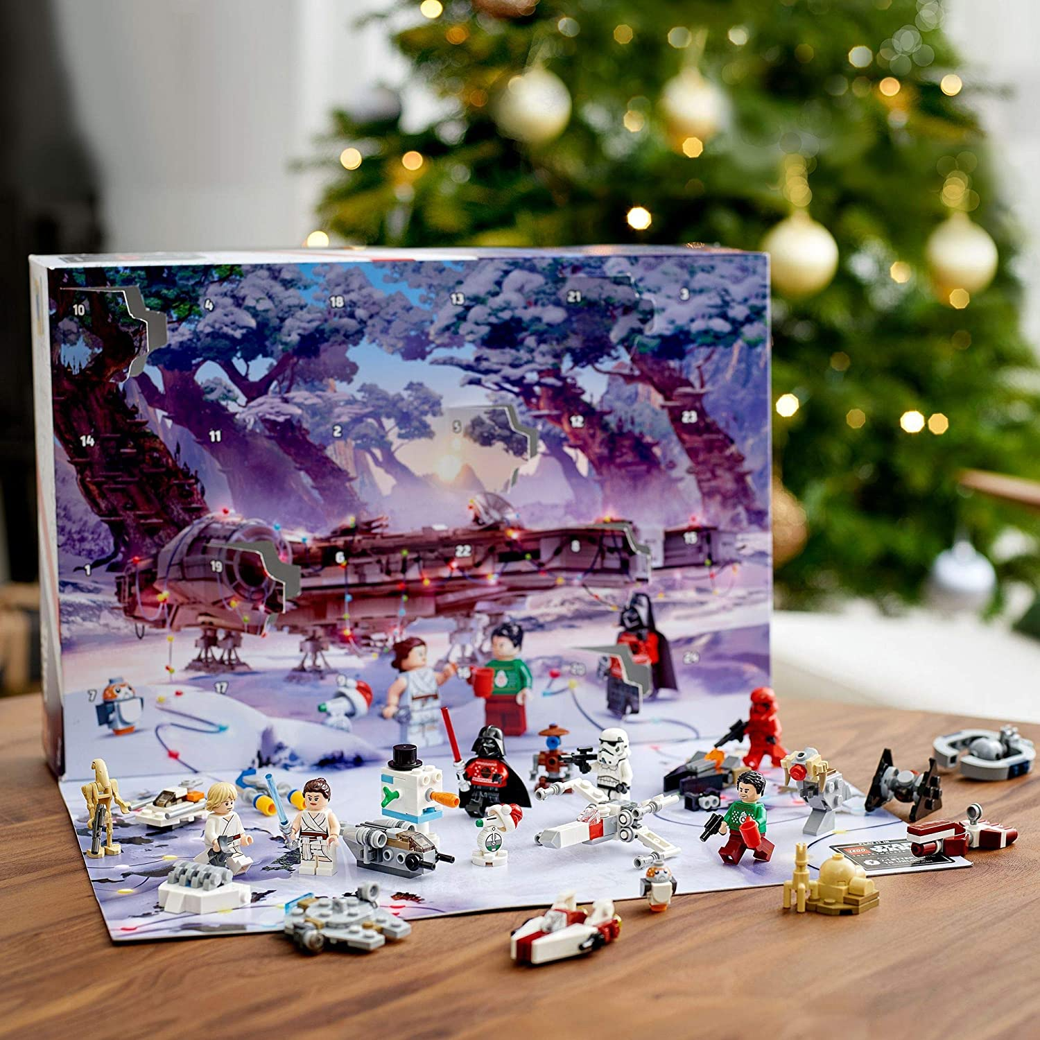 LEGO Star Wars Calendrier de l'Avent LEGO Star Wars 2020 mini jeu de Construction de Noël