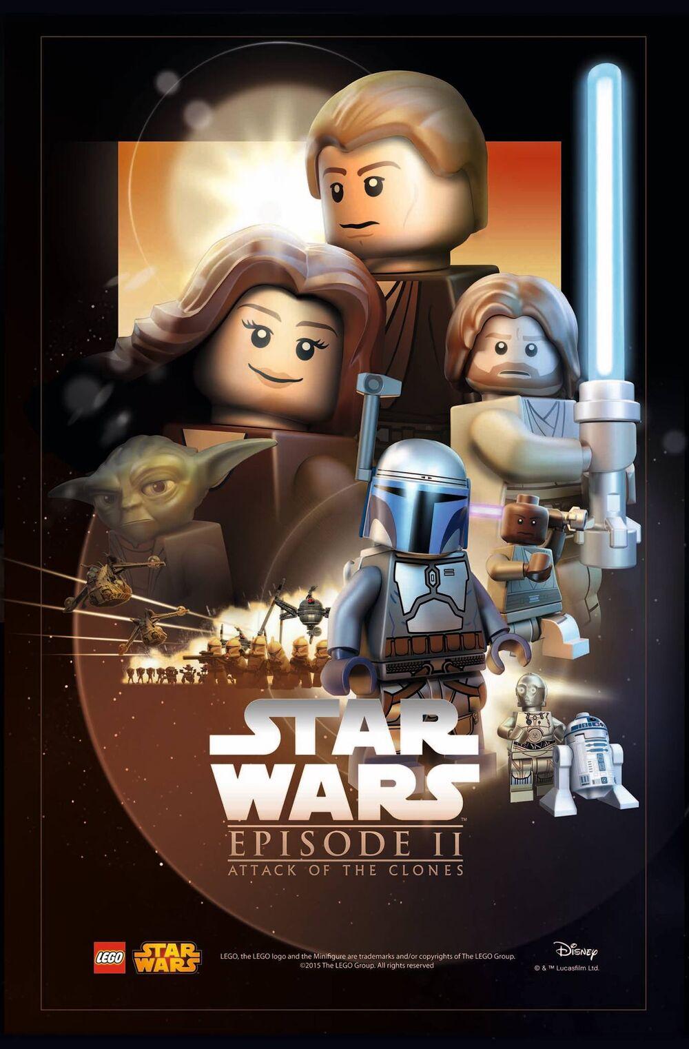 LEGO Star wars - l'attaque des clones