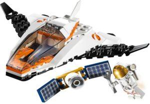 LEGO City Space 60224 La Mission d'entretien du Satellite