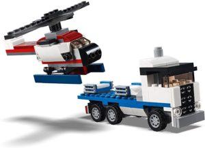 Lego Creator transporteur de navette