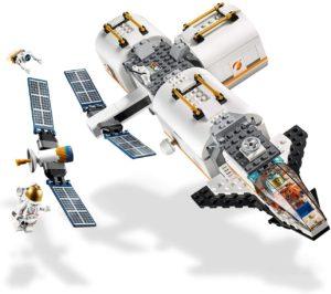 station spatiale lunaire lego