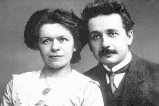 Mileva Maric et Albert Einstein