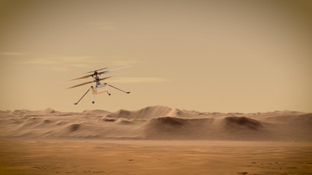 ingenuity mars rover